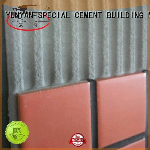 unsanded sanded mosaic stone adhesive YUNYAN