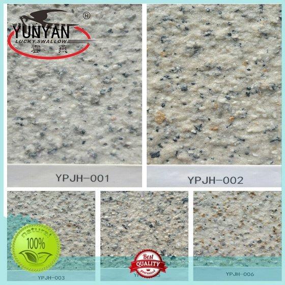 YUNYAN Brand paint natural acrylic textured powder coat textured