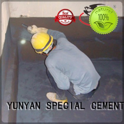 waterproof basement cement floor fast waterproof basement flooring latex YUNYAN