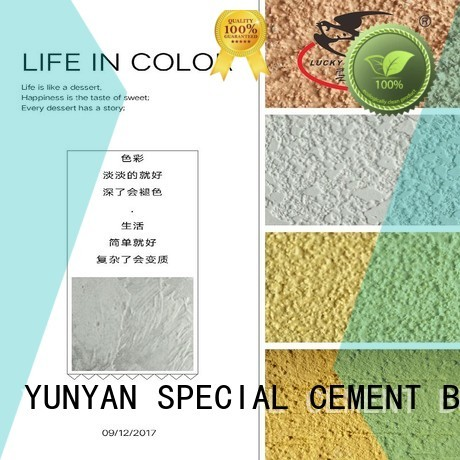 YUNYAN Brand stucco cement concrete paint interior stucco paint