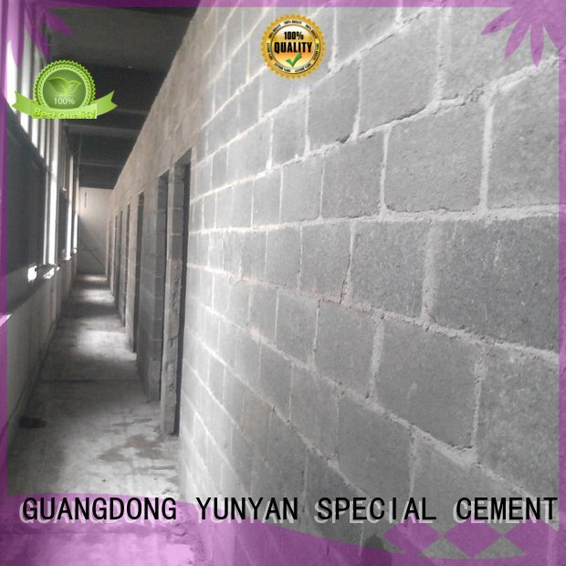 Wholesale thinset plaster sand and cement screed YUNYAN Brand