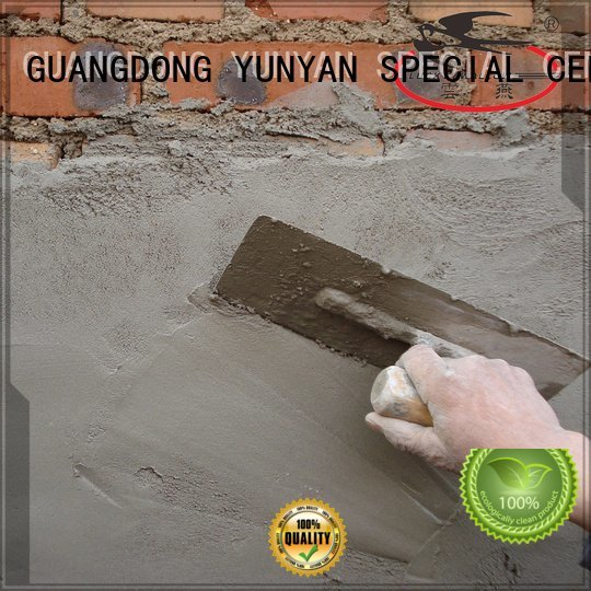cement rendered wall thinset YUNYAN Brand