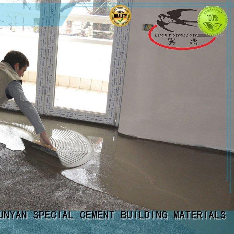 sealing concrete garage floors cement floor concrete screed YUNYAN
