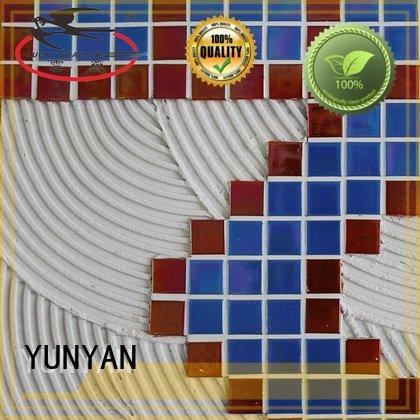 tile unsanded mosaic adhesive YUNYAN stone tile adhesive