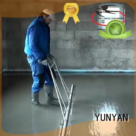 Hot cement rendered wall plaster sand and cement screed screed YUNYAN