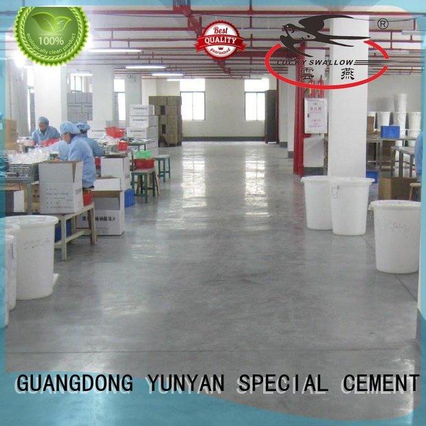 Hot sealing concrete garage floors selfleveling concrete floor YUNYAN Brand