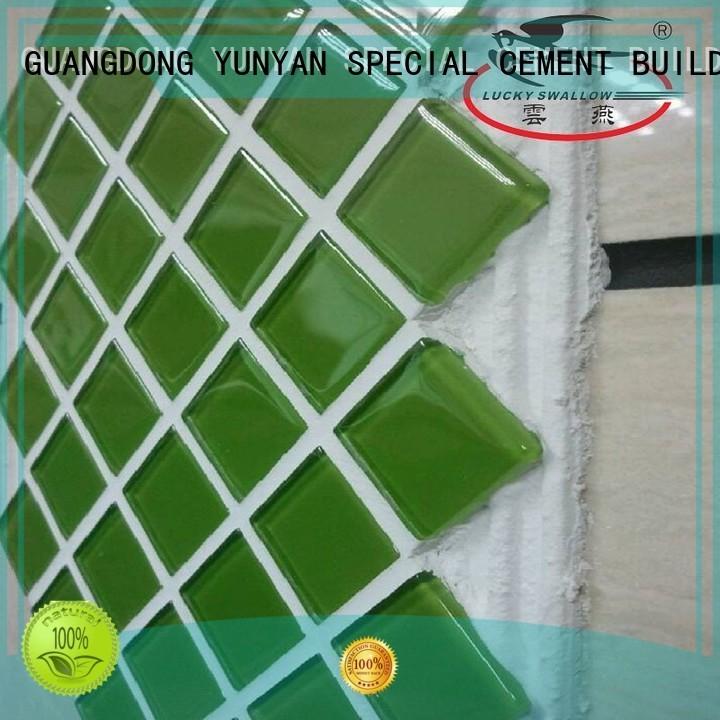 stone adhesive unsanded tile Warranty YUNYAN
