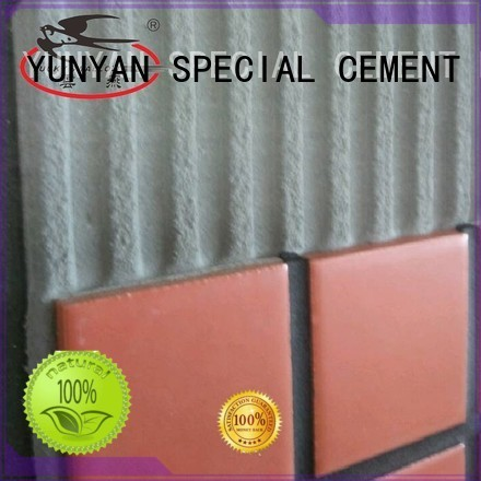 Custom sanded adhesive stone tile adhesive YUNYAN tile