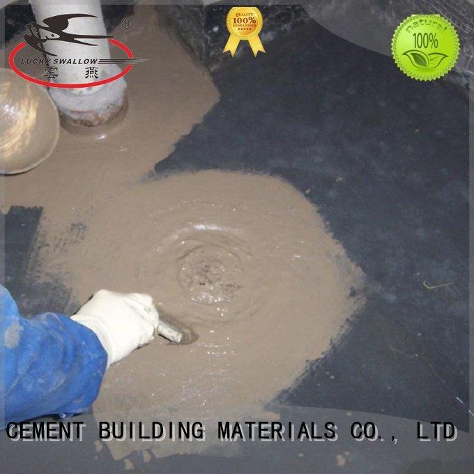 Custom waterproof basement flooring fast cement slurry YUNYAN
