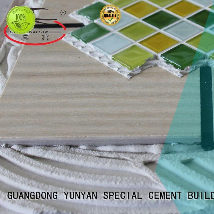 YUNYAN Brand sanded mosaic stone tile adhesive tile unsanded