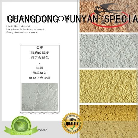 YUNYAN Brand natural cement concrete interior stucco paint