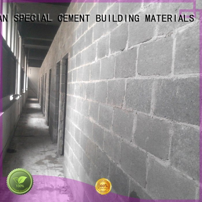 screed floor YUNYAN cement rendered wall