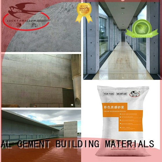 Quality painting interior stucco walls YUNYAN Brand concrete interior stucco paint
