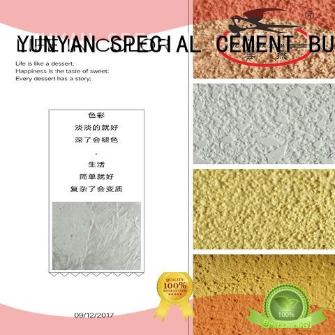 concrete natural interior stucco paint cement YUNYAN