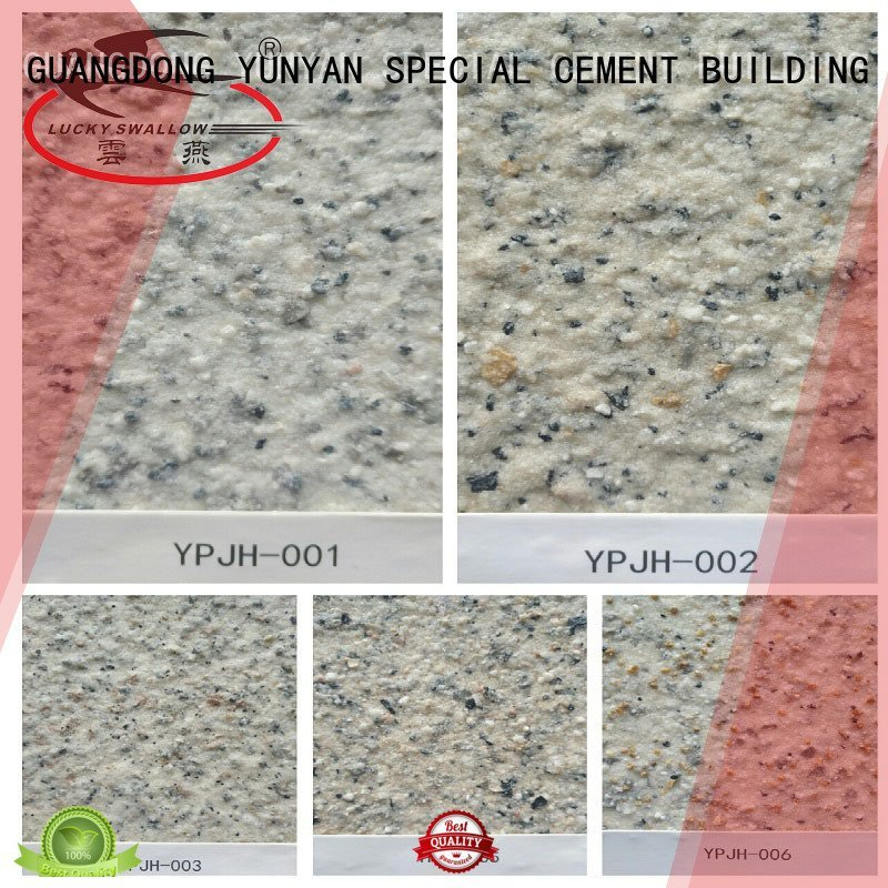 textured acrylic painting on canvas stone natural OEM textured powder coat YUNYAN