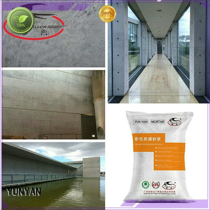 YUNYAN painting interior stucco walls cement paint concrete