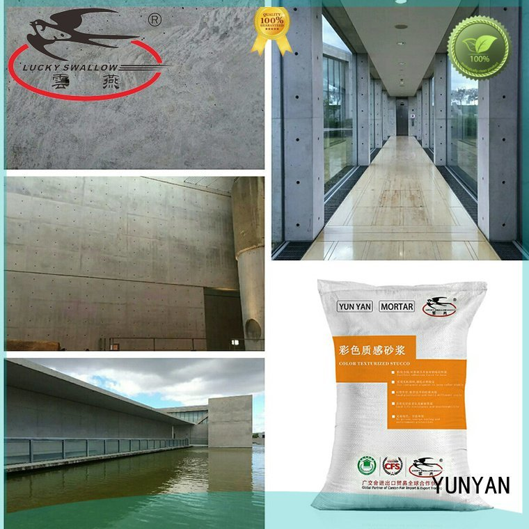 Hot painting interior stucco walls cement interior stucco paint concrete YUNYAN