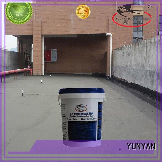 Hot waterproof basement cement floor slurry waterplug cement YUNYAN Brand
