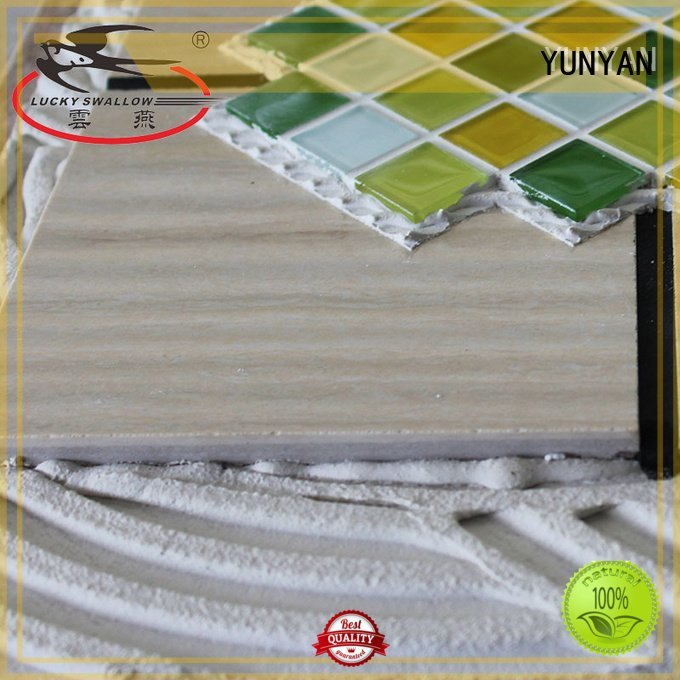 Quality stone adhesive YUNYAN Brand adhesive stone tile adhesive
