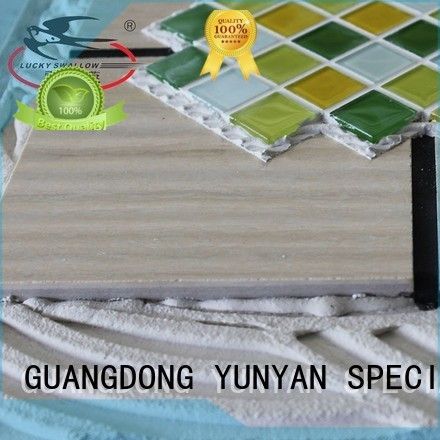 unsanded stone adhesive tile YUNYAN company