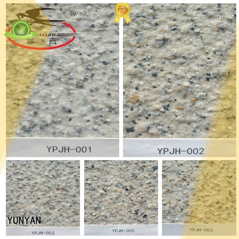 YUNYAN Brand paint textured natural textured powder coat acrylic