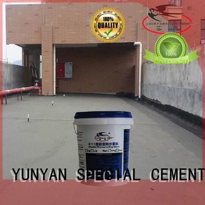 YUNYAN Brand latex mortar waterproof basement flooring