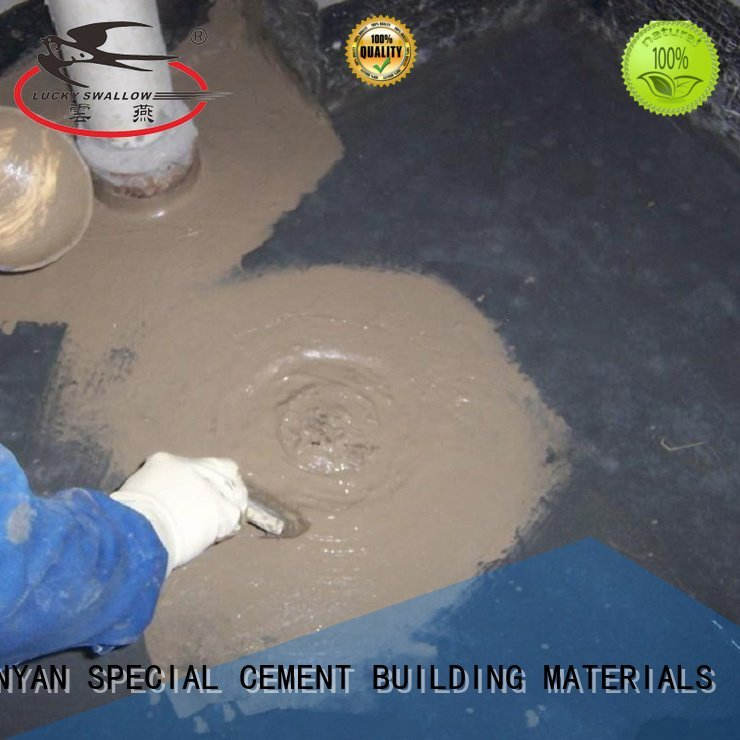 Hot waterproof basement cement floor slurry waterproof basement flooring wps YUNYAN