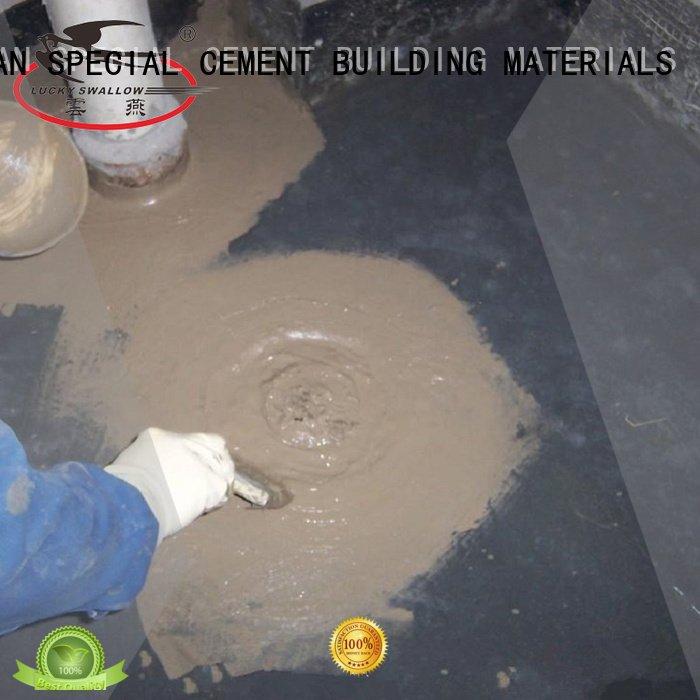 latex setting waterproof basement cement floor YUNYAN