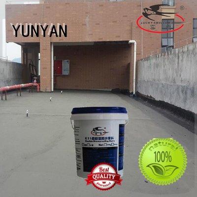 Wholesale mortar flexible waterproof basement flooring YUNYAN Brand