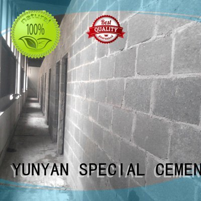 cement rendered wall repair sand and cement screed YUNYAN Brand