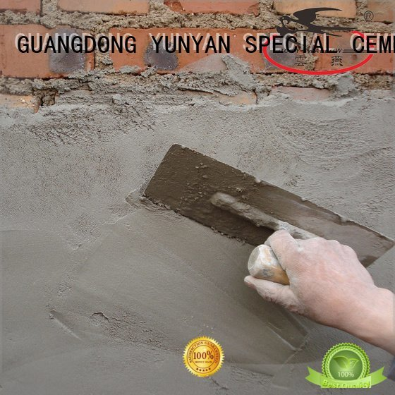 Custom sand and cement screed screed thinset repair YUNYAN