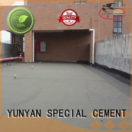 Hot waterproof basement cement floor setting mortar transparent YUNYAN Brand