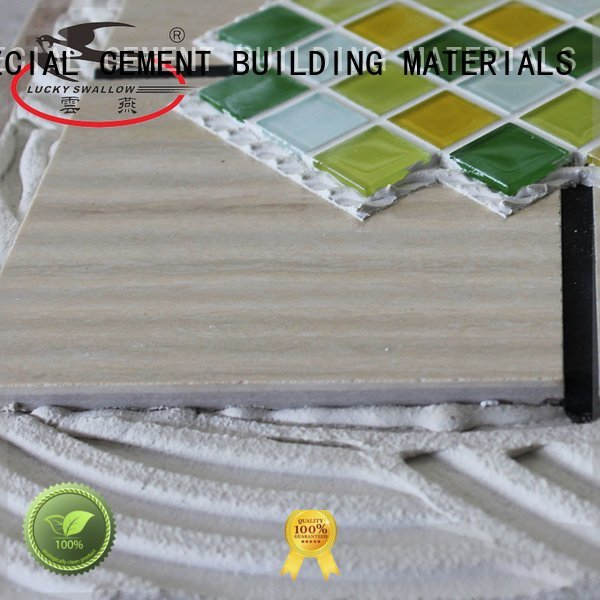 YUNYAN mosaic tile stone tile adhesive unsanded sanded