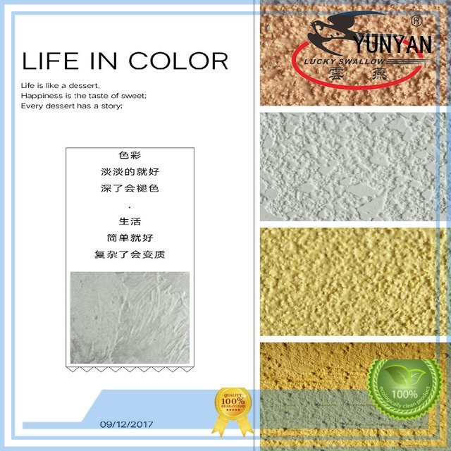 painting interior stucco walls natural paint concrete YUNYAN