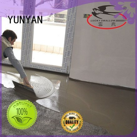 YUNYAN sealing concrete garage floors screed cement hardener