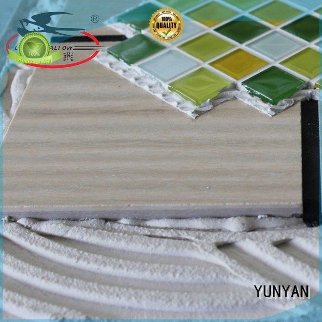 unsanded mosaic stone tile adhesive adhesive YUNYAN