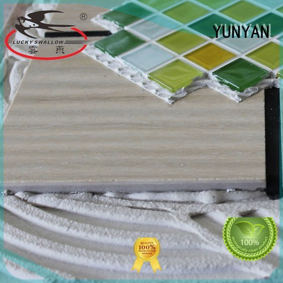 mosaic sanded tile unsanded YUNYAN stone adhesive