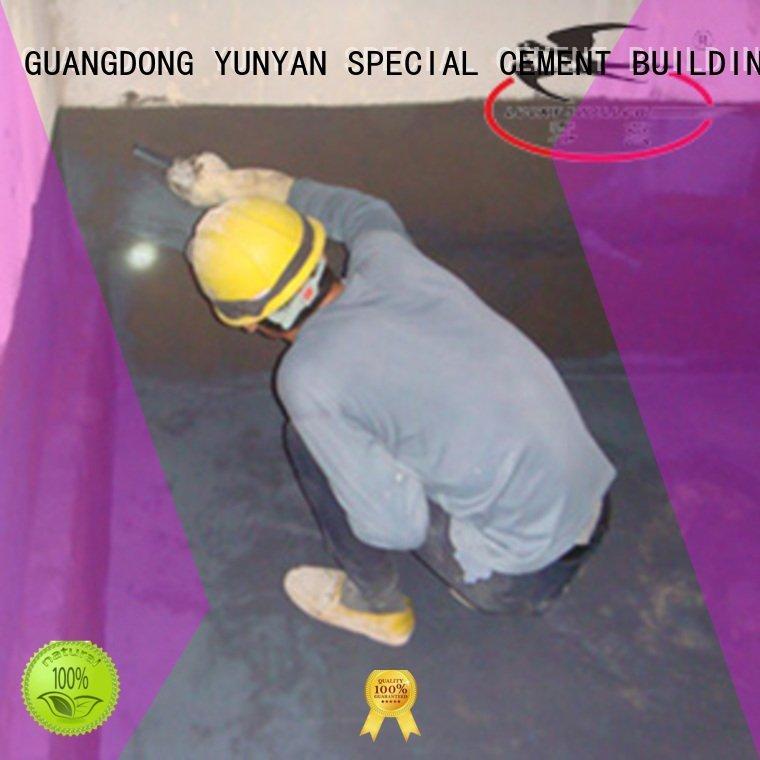 waterproof basement cement floor flexible YUNYAN Brand waterproof basement flooring