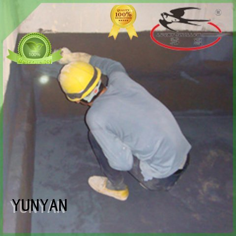 Hot waterproof basement cement floor latex waterproof basement flooring polymer YUNYAN