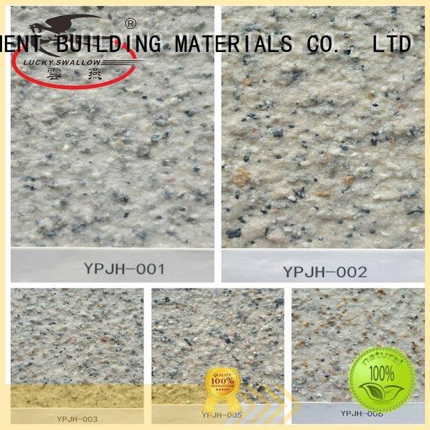 YUNYAN Brand natural stone textured textured powder coat acrylic