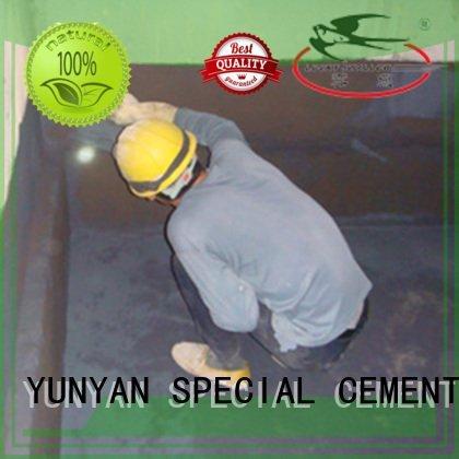 antipermeability flexible setting waterplug YUNYAN waterproof basement flooring