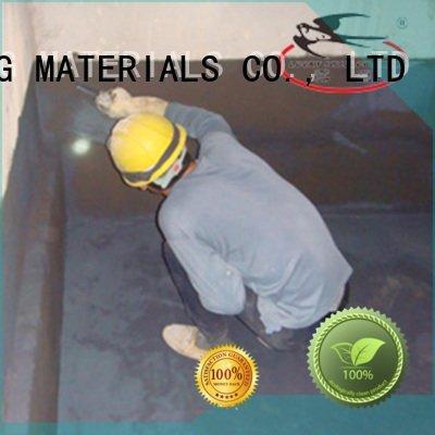 setting fast slurry latex YUNYAN waterproof basement flooring