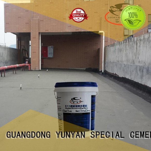 waterproof basement cement floor fast agent waterproof basement flooring YUNYAN Warranty