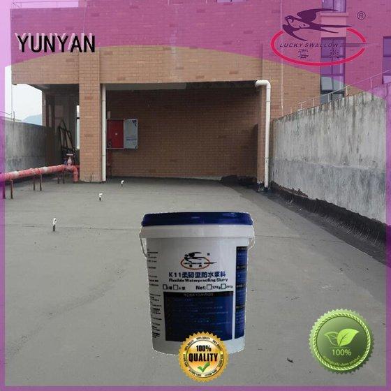 waterproof basement cement floor slurry waterproof basement flooring YUNYAN Brand