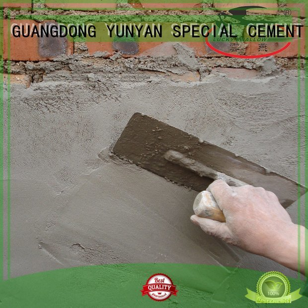 cement rendered wall render YUNYAN Brand sand and cement screed