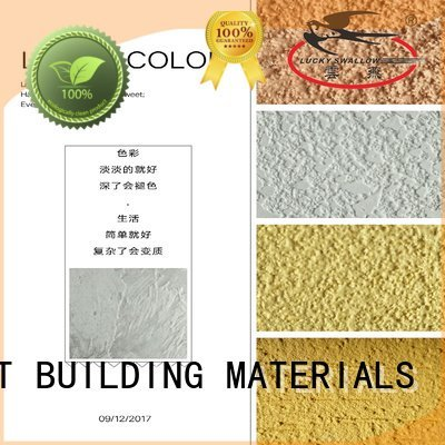natural cement YUNYAN interior stucco paint