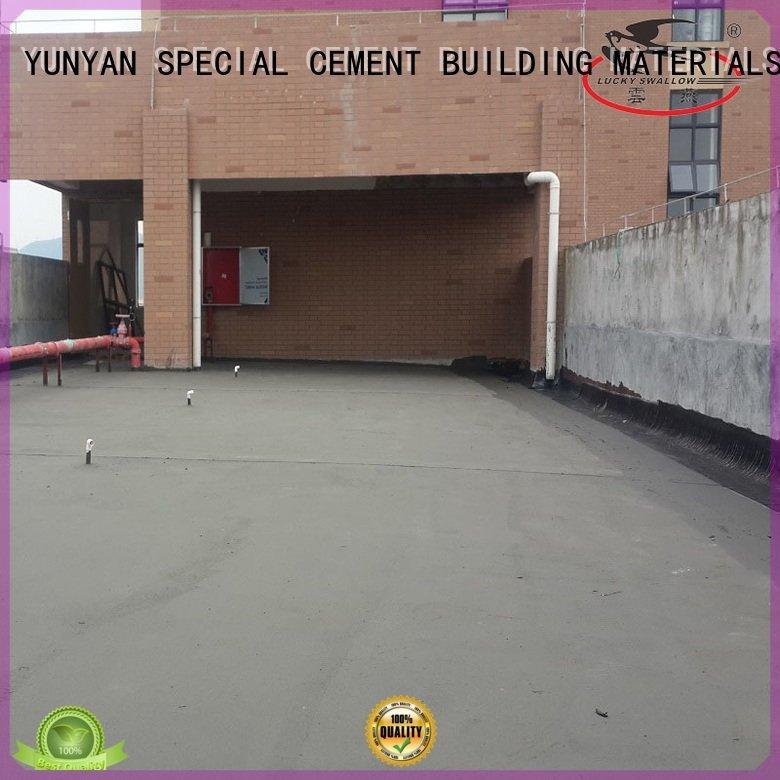 Hot waterproof basement cement floor waterproofing waterproof basement flooring rigid YUNYAN