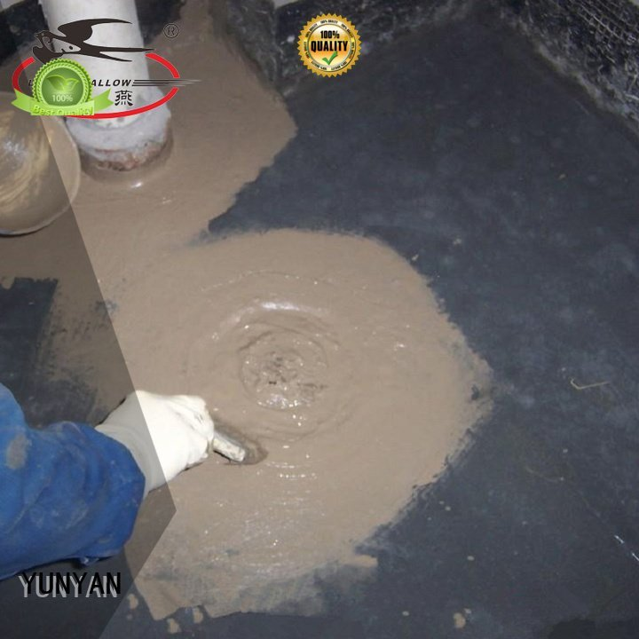 YUNYAN waterproof basement cement floor slurry waterplug building transparent