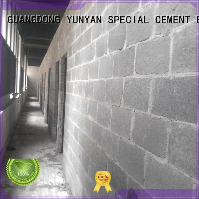 YUNYAN screed sand and cement screed thinset floor