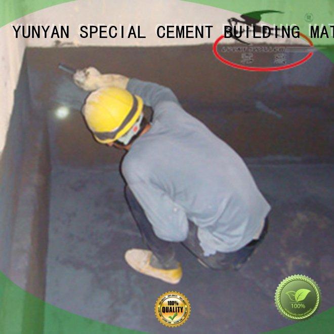 Hot waterproof basement cement floor cement waterproof basement flooring latex YUNYAN
